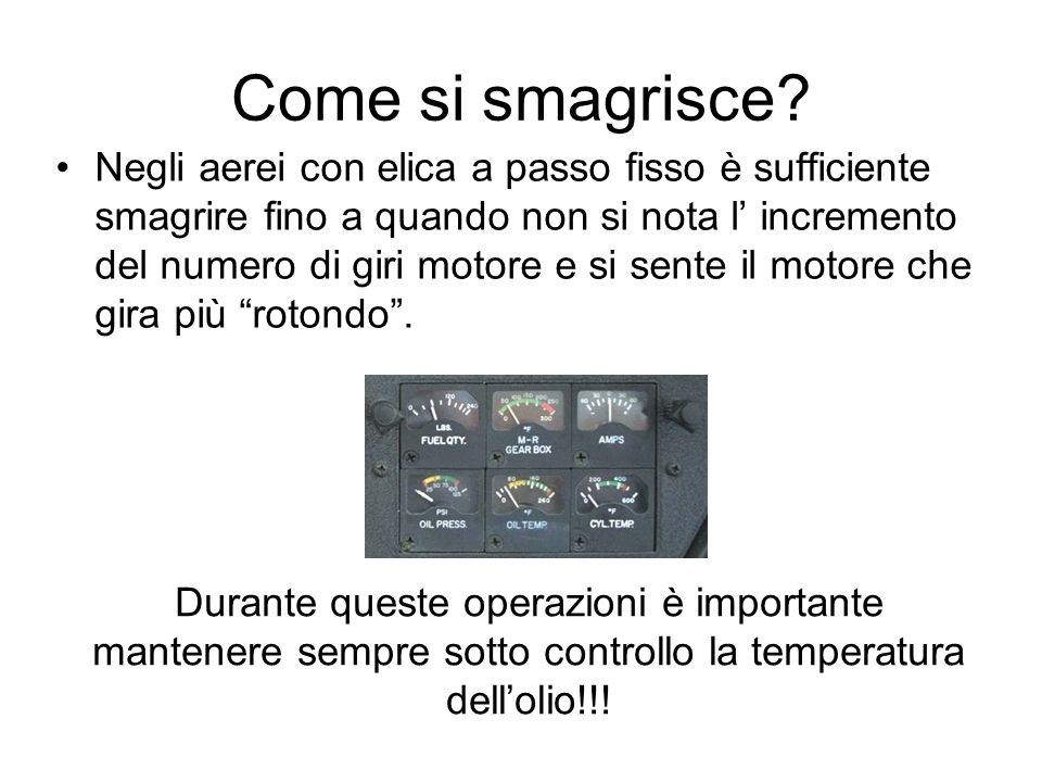 Come si smagrisce