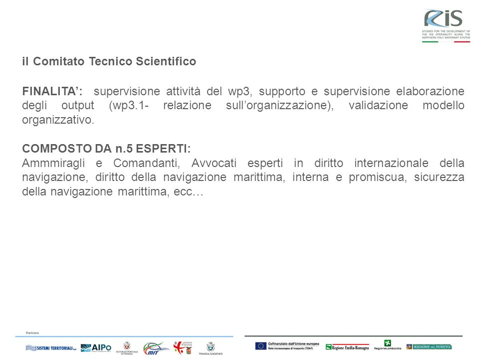 il Comitato Tecnico Scientifico