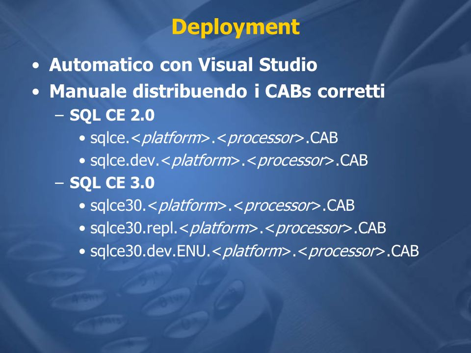 Deployment Automatico con Visual Studio