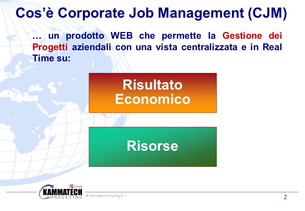 Cos'è Corporate Job Management (CJM)