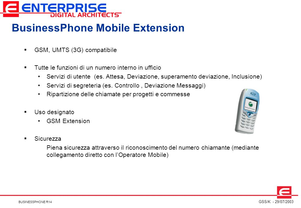 BusinessPhone Mobile Extension