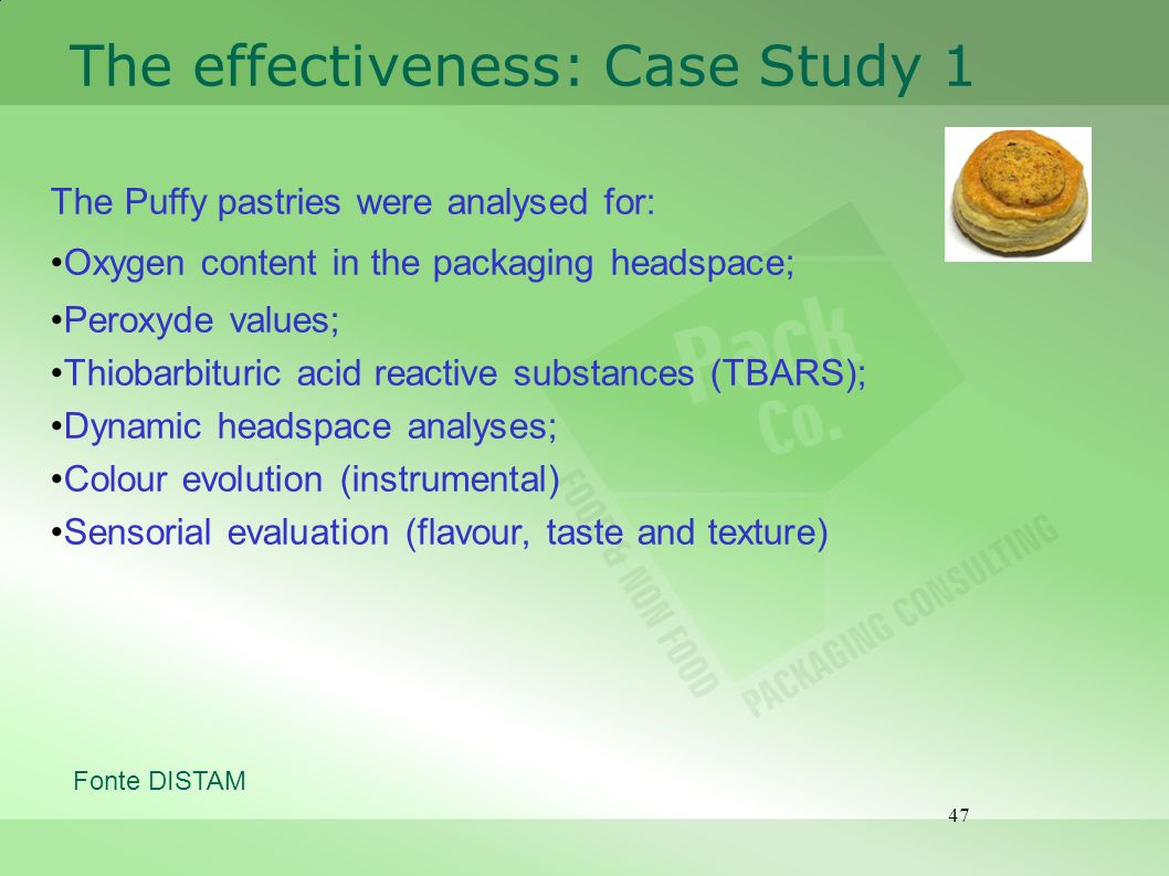 The effectiveness: Case Study 1