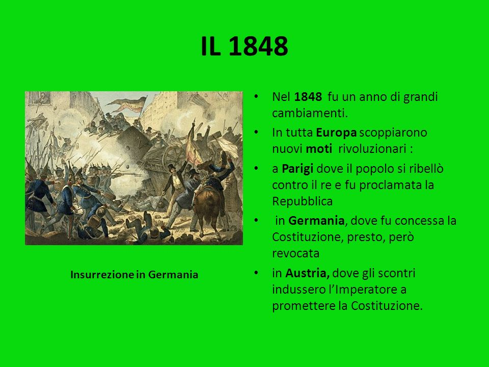 Insurrezione in Germania
