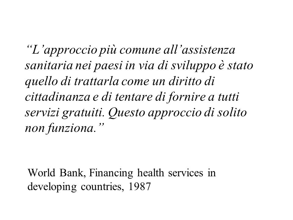 World Bank, Financing health services in developing countries, 1987