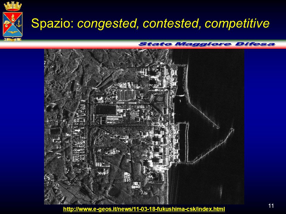 Spazio: congested, contested, competitive