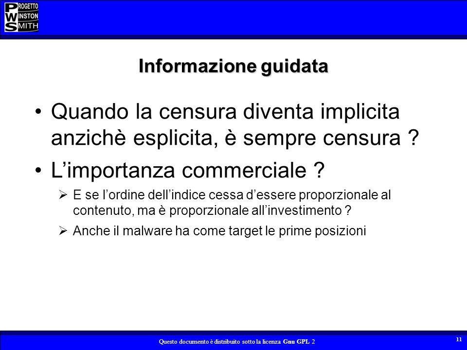 L'importanza commerciale