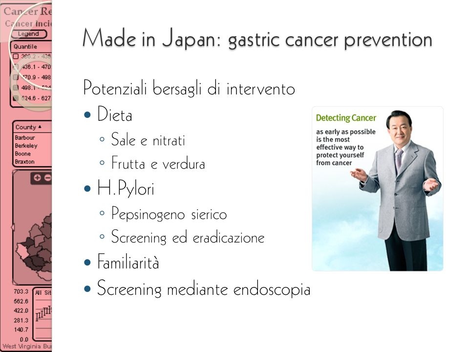 Made in Japan: gastric cancer prevention