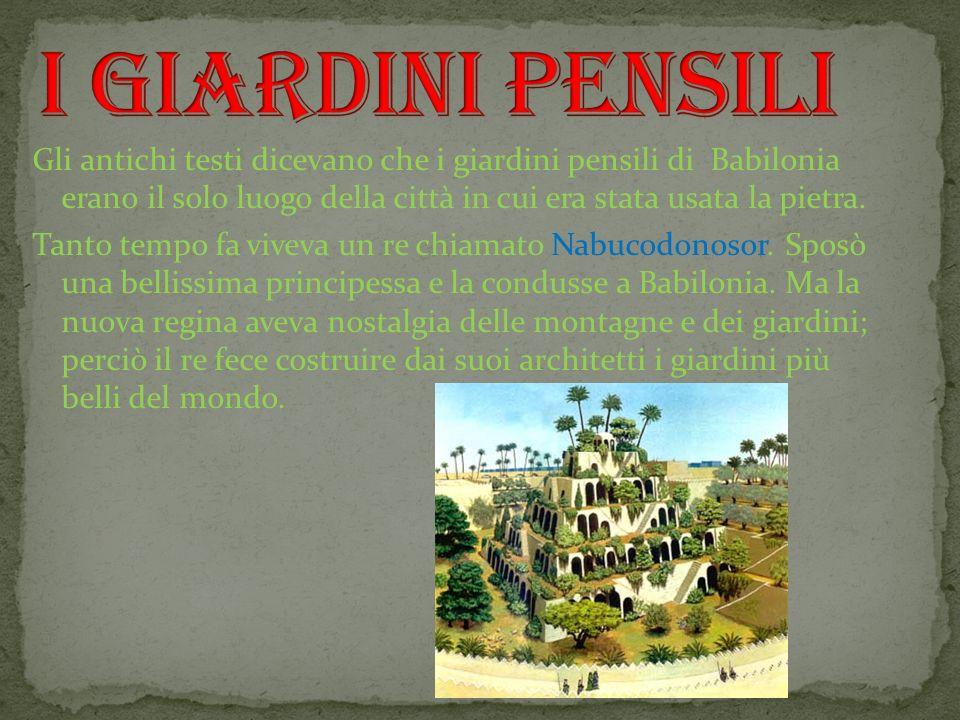 I giardini pensili i giardini pensili ppt video online for Giardini pensili