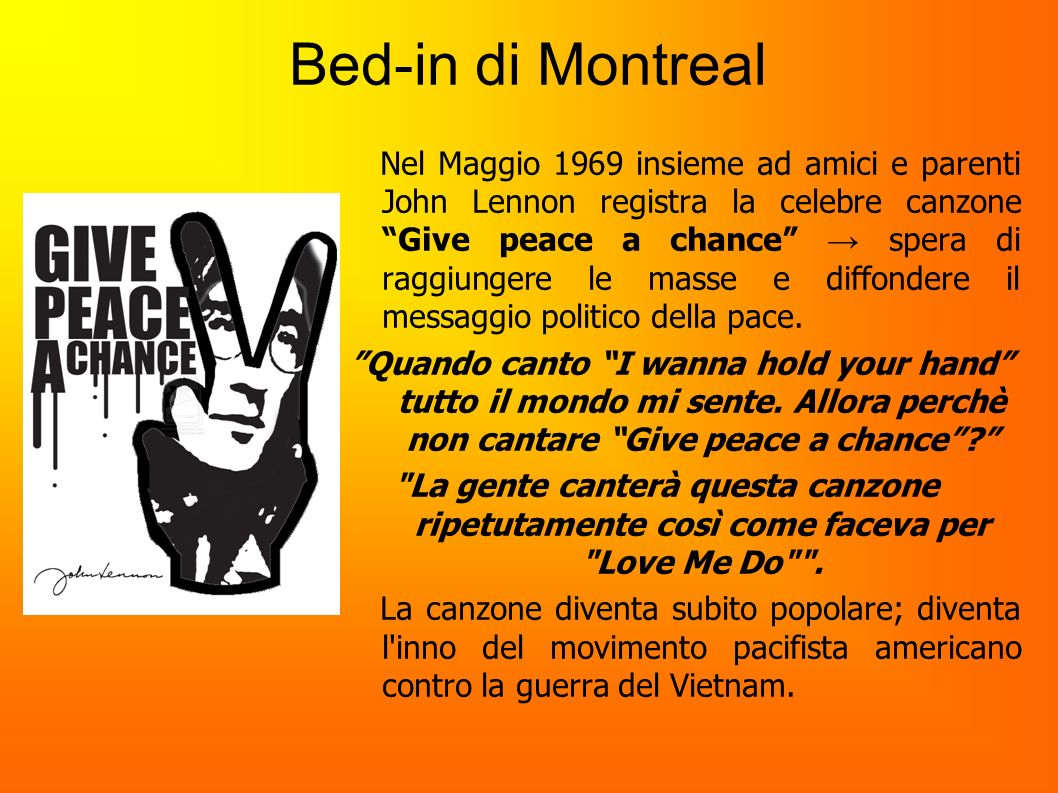 Bed-in di Montreal