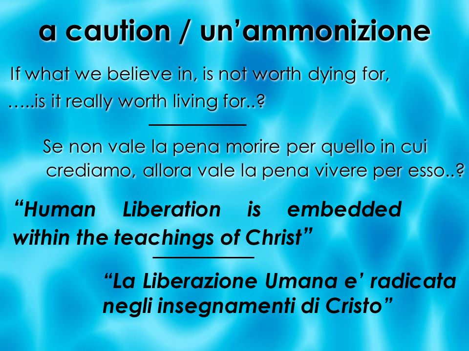 a caution / un'ammonizione