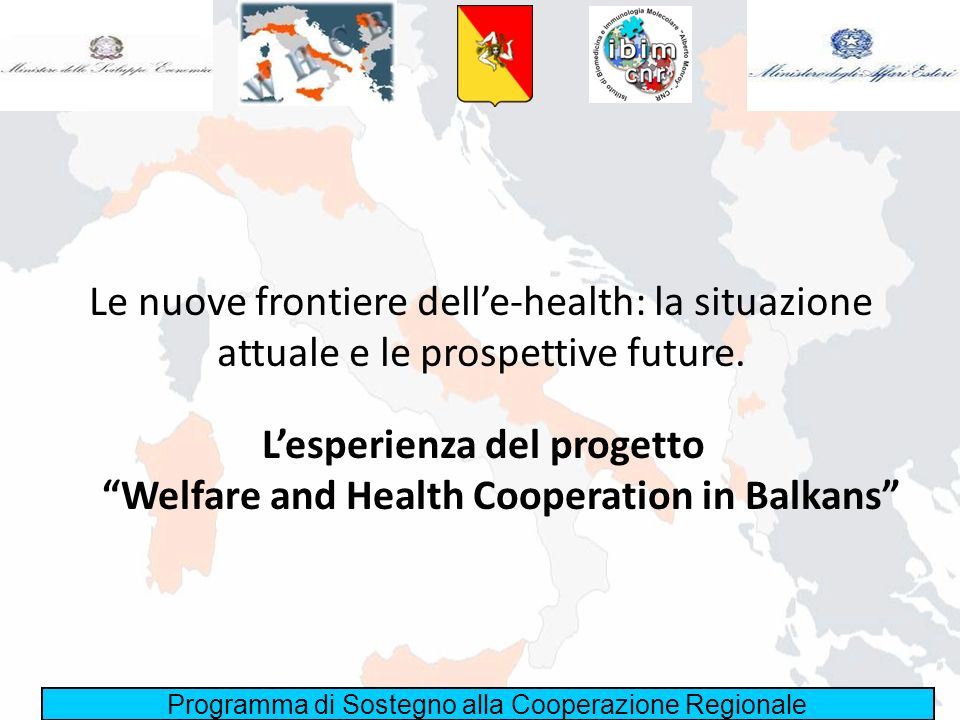 L'esperienza del progetto Welfare and Health Cooperation in Balkans
