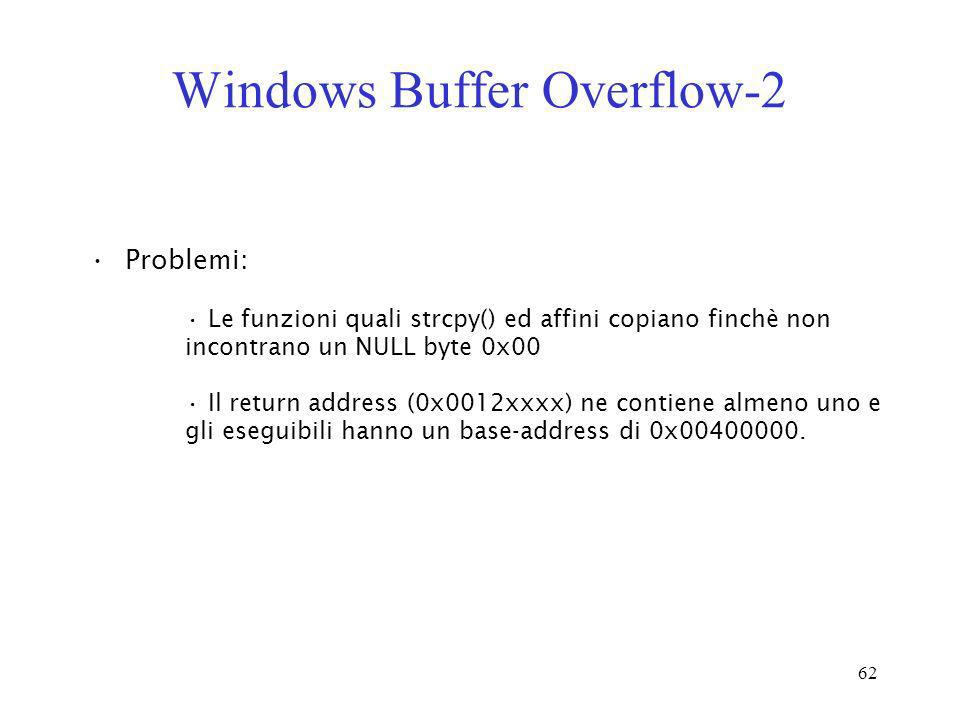 Windows Buffer Overflow-2