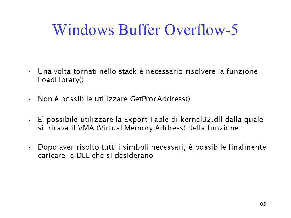 Windows Buffer Overflow-5