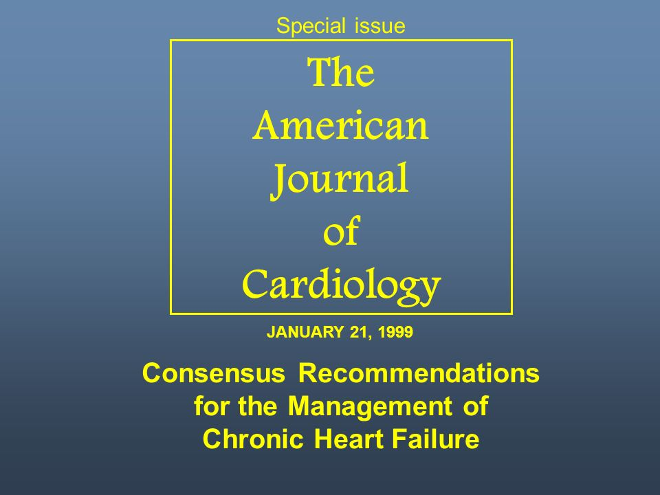 The American Journal of Cardiology