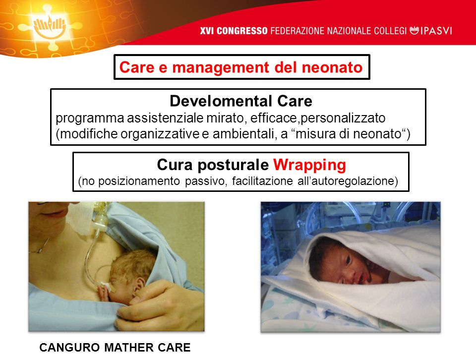 Care e management del neonato