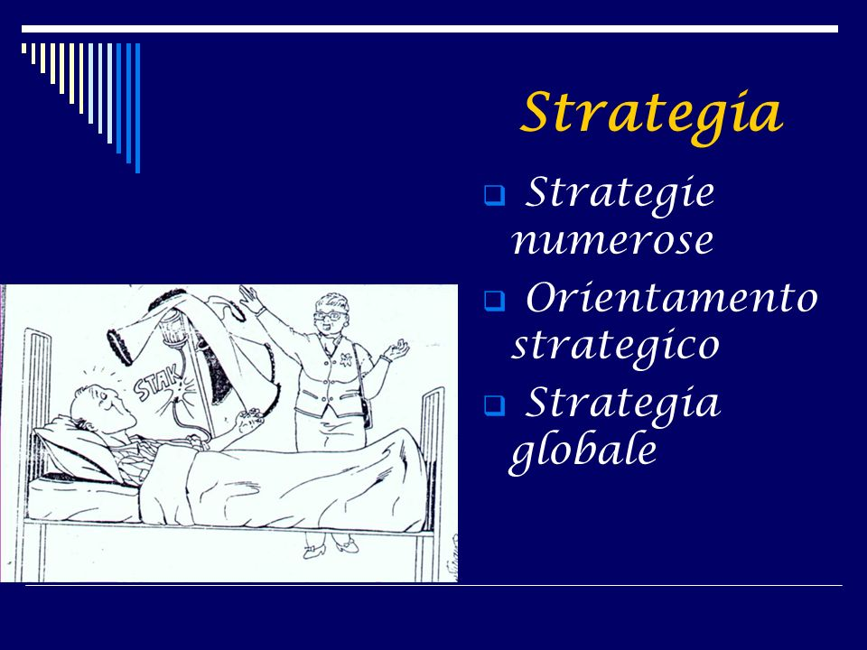 Strategia Strategie numerose Orientamento strategico Strategia globale