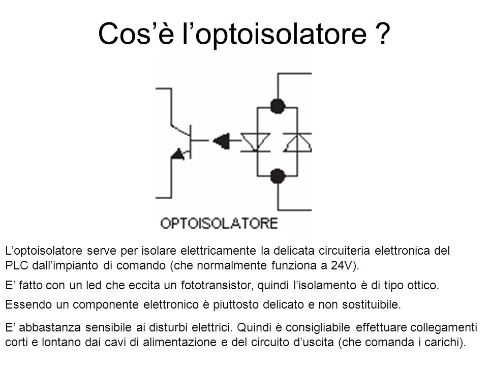 Cos'è l'optoisolatore