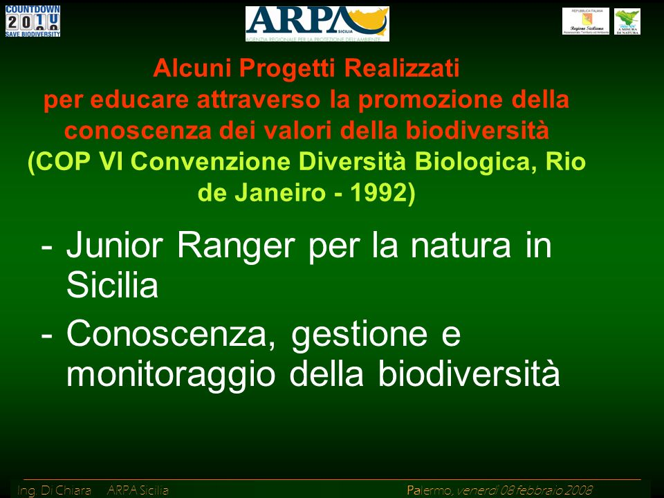 Junior Ranger per la natura in Sicilia