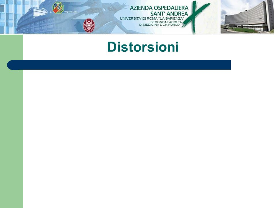 Distorsioni