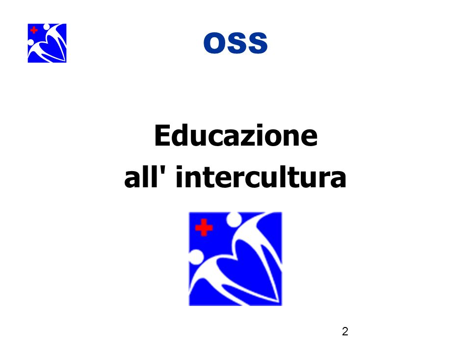 OSS Educazione all intercultura