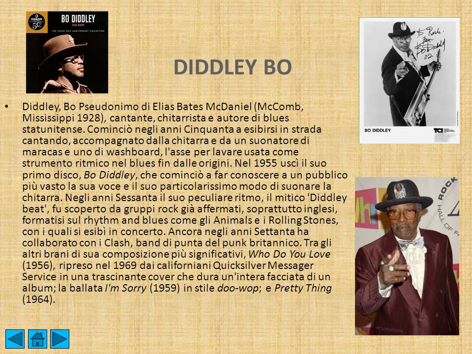 DIDDLEY BO