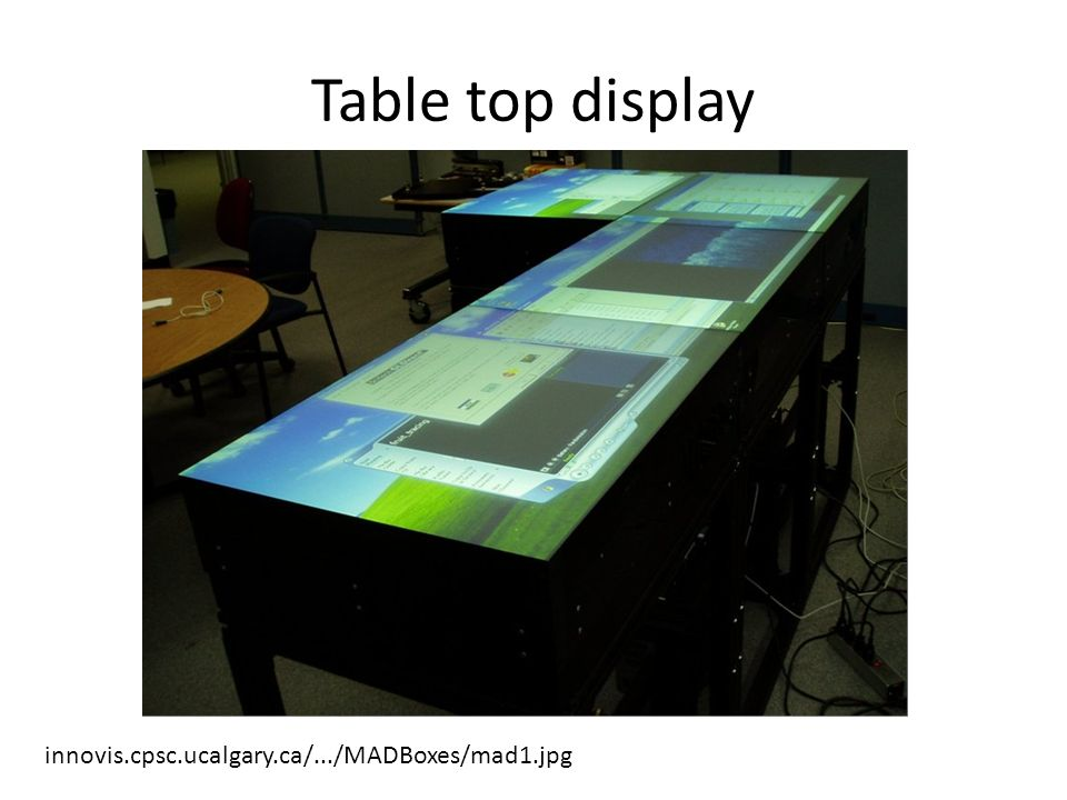 Table top display innovis.cpsc.ucalgary.ca/.../MADBoxes/mad1.jpg