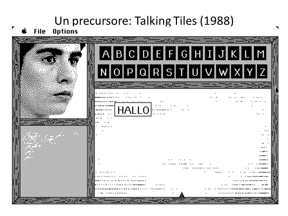 Un precursore: Talking Tiles (1988)