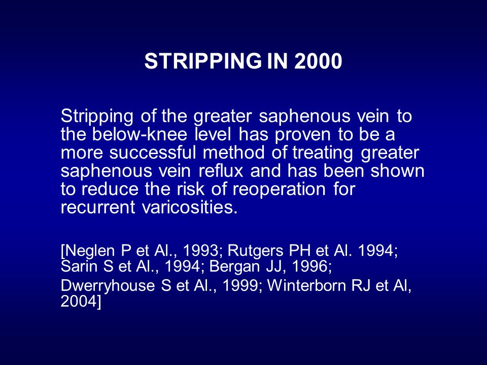 STRIPPING IN 2000