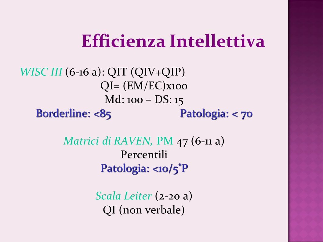 Efficienza Intellettiva
