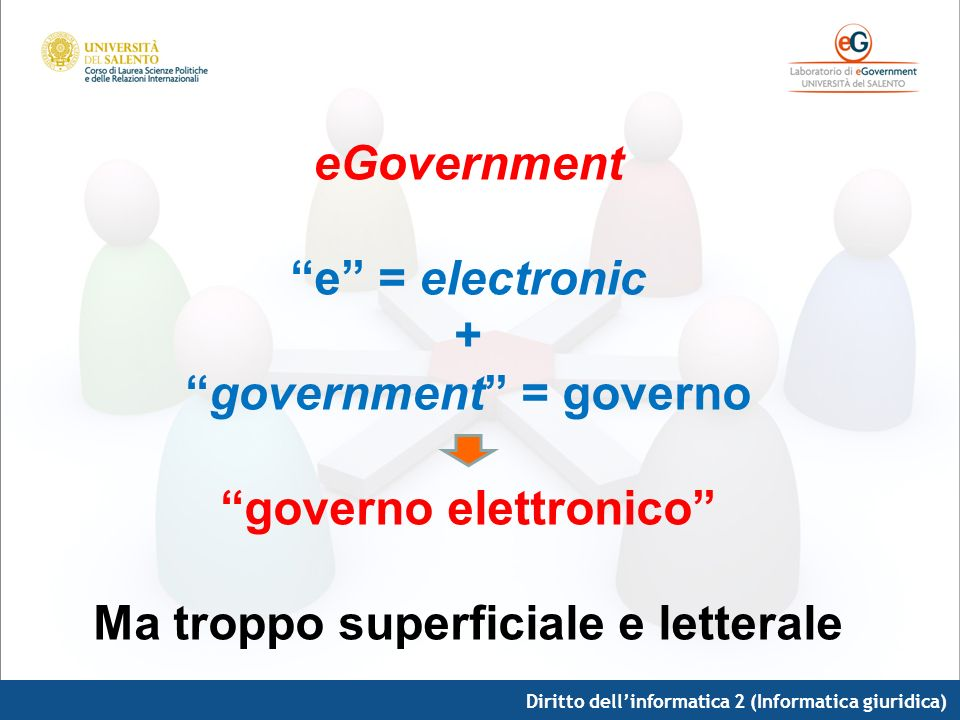 government = governo governo elettronico