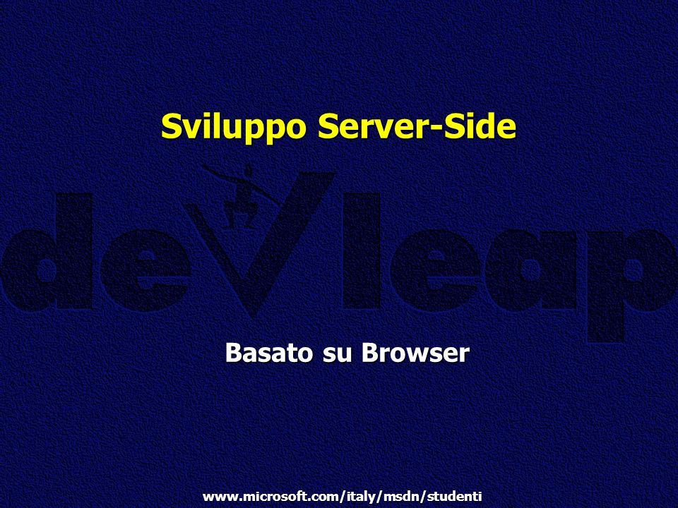 Sviluppo Server-Side Basato su Browser Pocket in Rete