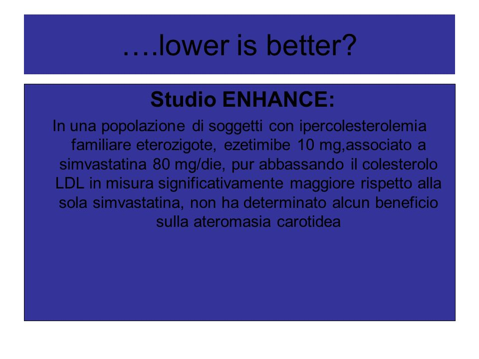 ….lower is better Studio ENHANCE: