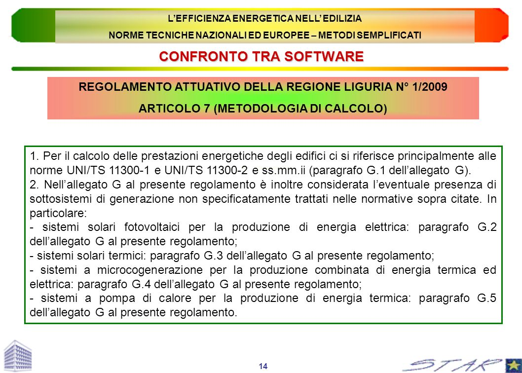 CONFRONTO TRA SOFTWARE