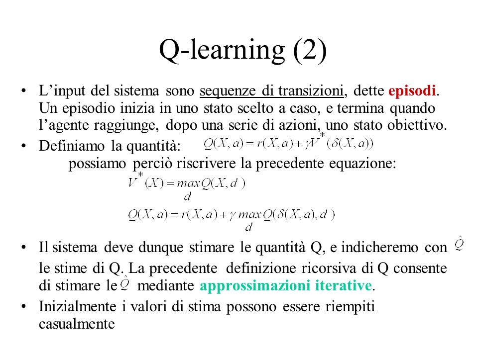 Q-learning (2)