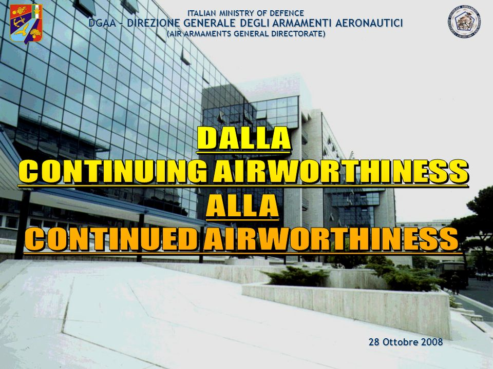 DALLA CONTINUING AIRWORTHINESS ALLA CONTINUED AIRWORTHINESS
