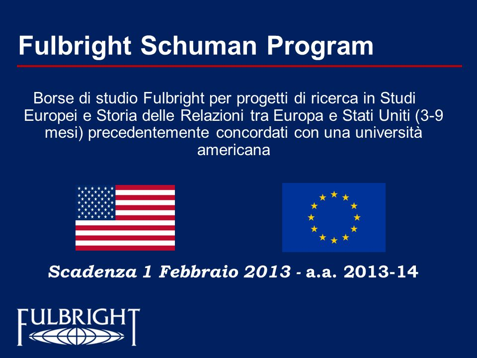 Fulbright Schuman Program