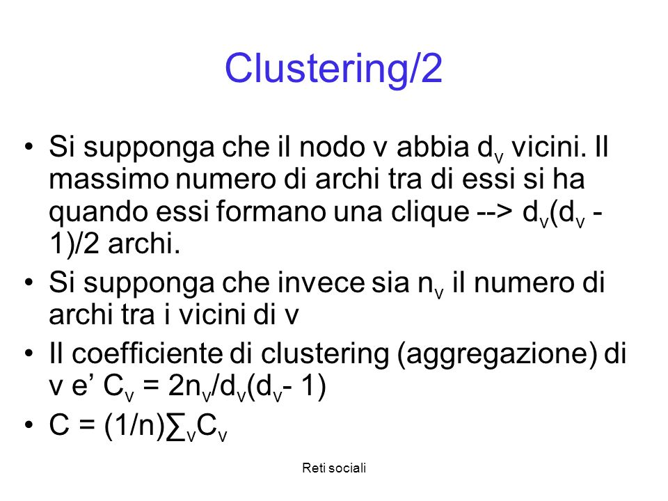 Clustering/2