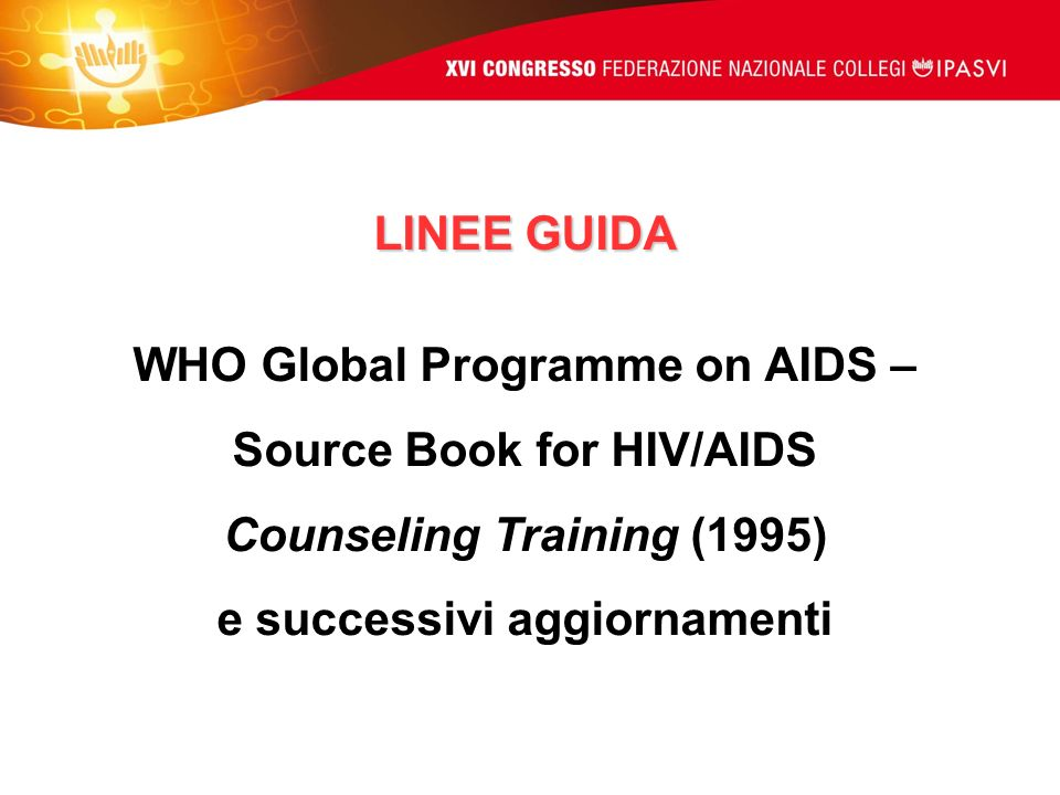 WHO Global Programme on AIDS – Source Book for HIV/AIDS