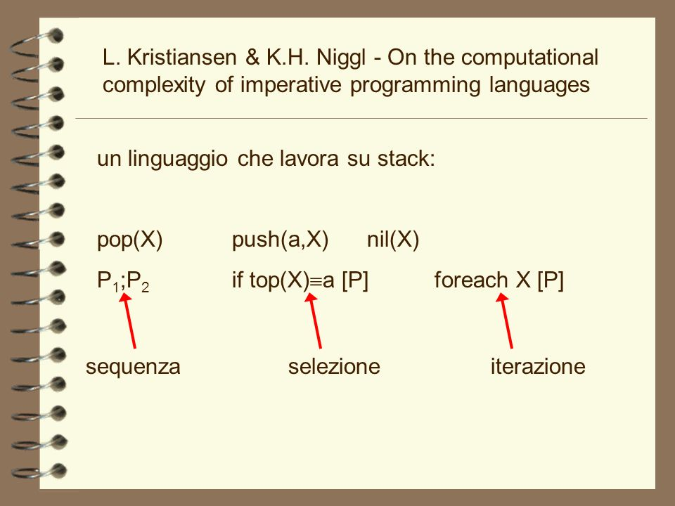 L. Kristiansen & K.H. Niggl - On the computational complexity of imperative programming languages