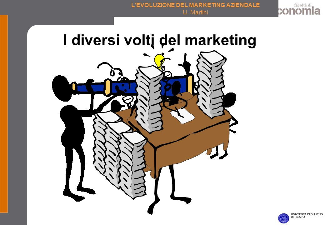 I diversi volti del marketing