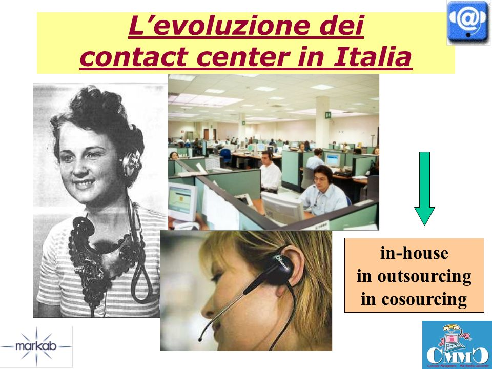 L'evoluzione dei contact center in Italia