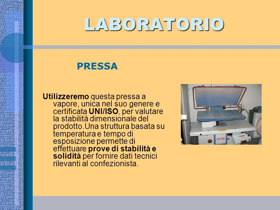 LABORATORIO PRESSA.
