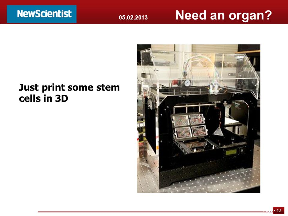 Just print some stem cells in 3D