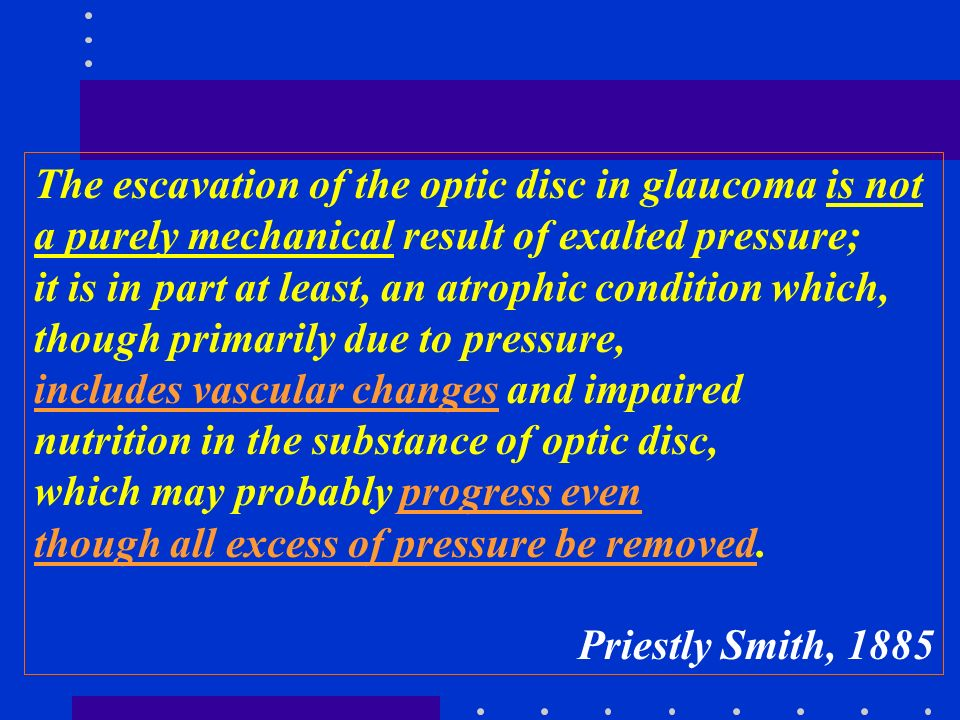 The escavation of the optic disc in glaucoma is not