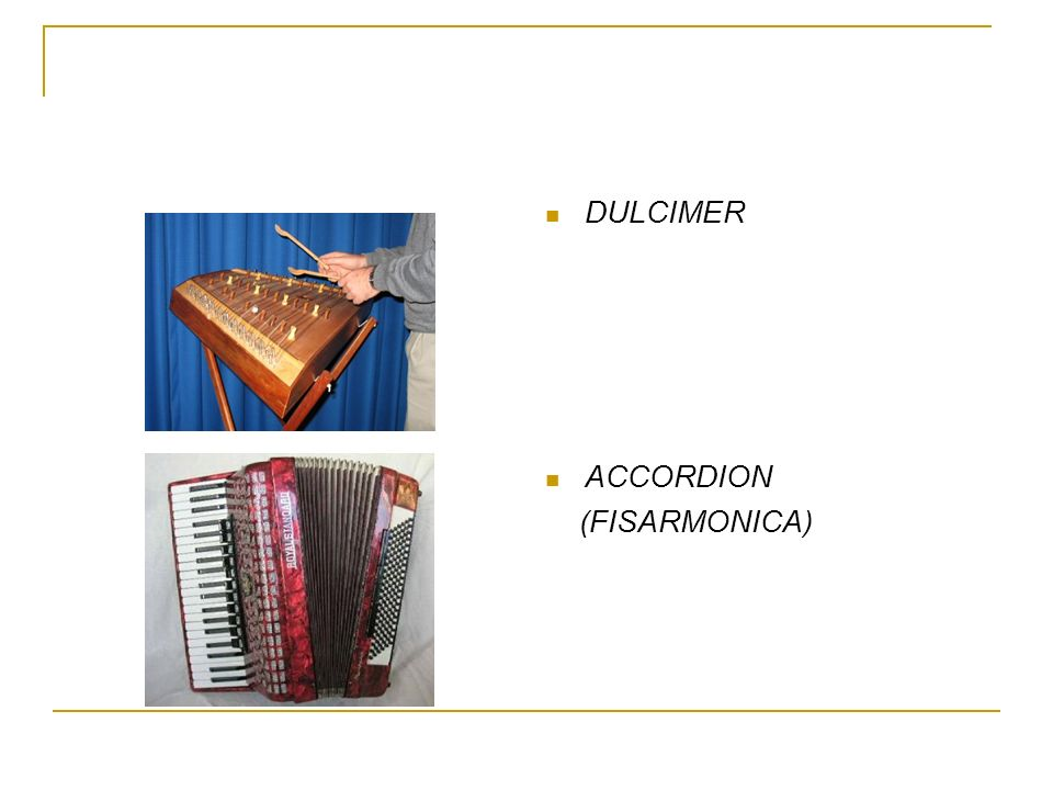 DULCIMER ACCORDION (FISARMONICA)