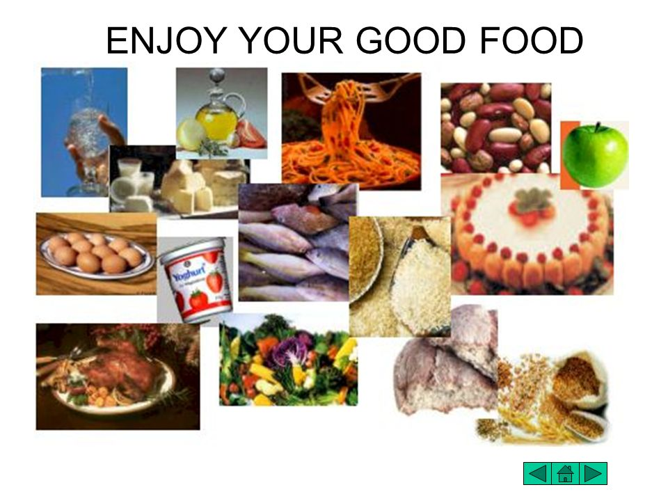 ENJOY YOUR GOOD FOOD