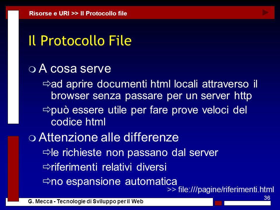 Il Protocollo File A cosa serve Attenzione alle differenze