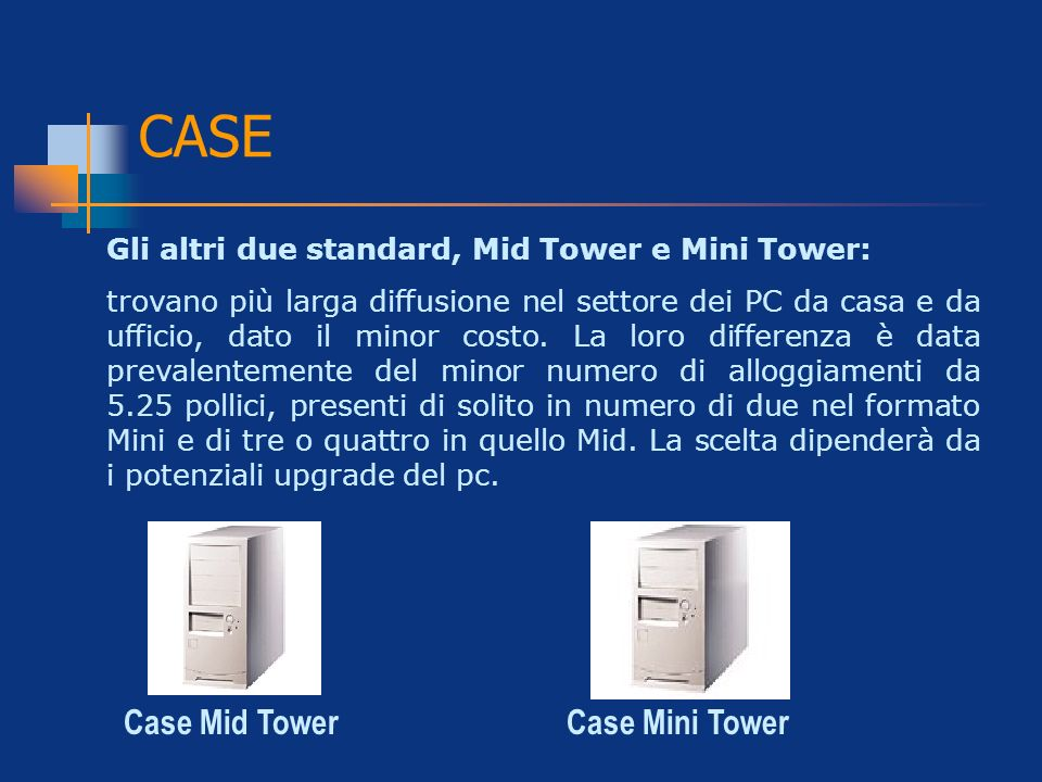 CASE Case Mid Tower Case Mini Tower