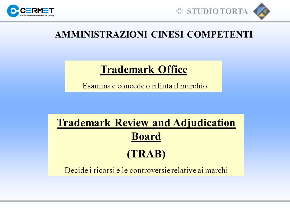 Trademark Office Trademark Review and Adjudication Board (TRAB)