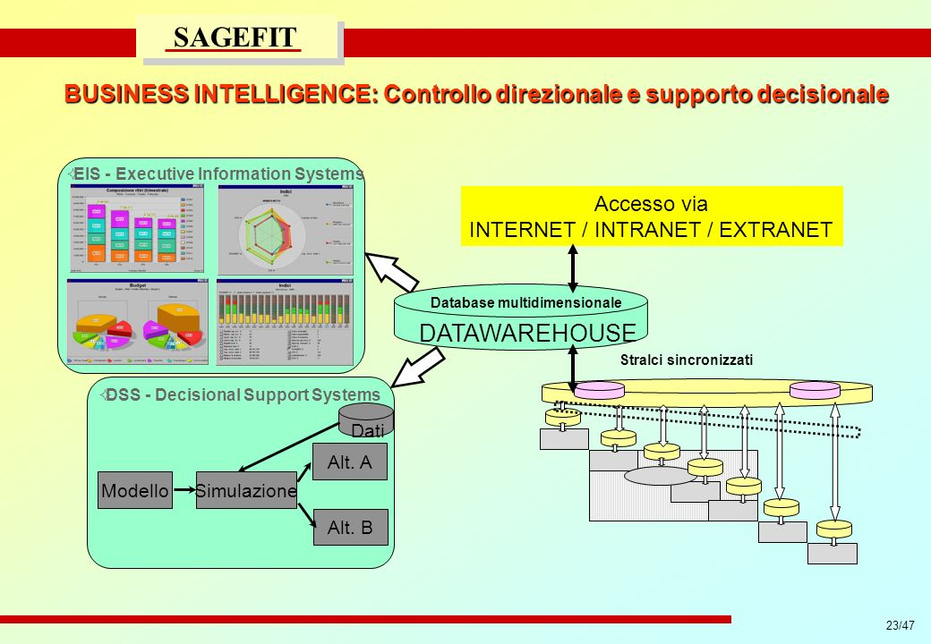 BUSINESS INTELLIGENCE: Controllo direzionale e supporto decisionale
